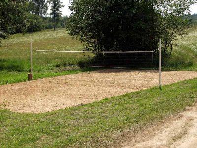 Как своими руками сделать волейбольную площадку на даче 36